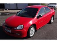 2001 (y) Chrysler Neon 2.0 RT Low Mileage Red