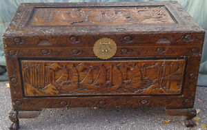 Carved Chest London Ontario image 1