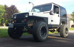 1992 Jeep TJ (2 door) 4L 6 cylinder