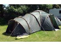 9 man pro action tent