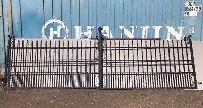 Iron Driveway Double Gates