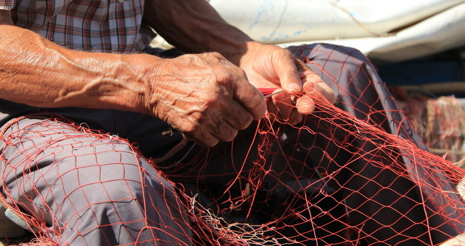 How to make a homemade fishing net ebay for How to make fish