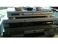 Job lot off 3 dvd players for sale