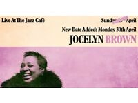 Jocelyn Brown - Sunday 29th April - 27 pounds!