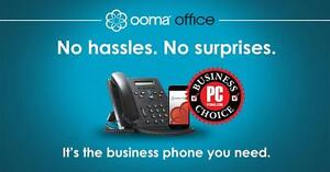 Sometimes it's good to get what you expect. Purchase a $99.99 Ooma Office System today and your first month is FREE!