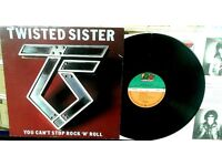 Twisted Sister ‎– You Can't Stop Rock 'N' Roll, VG, released on Atlantic ‎in 1983.