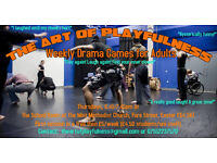 Drama Games for Adults - Weekly Playfulness Sessions