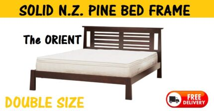 SOLID TIMBER Double Size Bed Frame - NEW - DELIVERED FREE New Farm Brisbane North East Preview