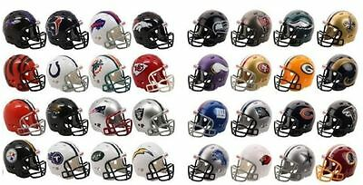 NFL AMERICAN FOOTBALL RIDDELL POCKET PRO REVOLUTION HELMET - 32 TEAMS AVAILABLE