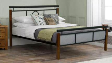 Soho Bed Frame Single/King Single/Double/Queen ( 2 Colours)