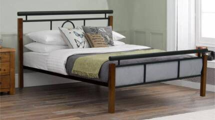 Soho Bed Frame Single/King Single/Double/Queen ( 2 Colours )