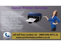 Why is canon printer not printing properly?