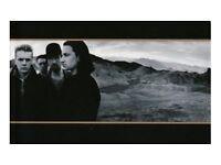 4 x U2 Joshua Tree Tour Tickets - Amsterdam 29th July