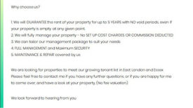 ATTENTION LANDLORDS!! - Long Term GUARANTEED fixed RENT