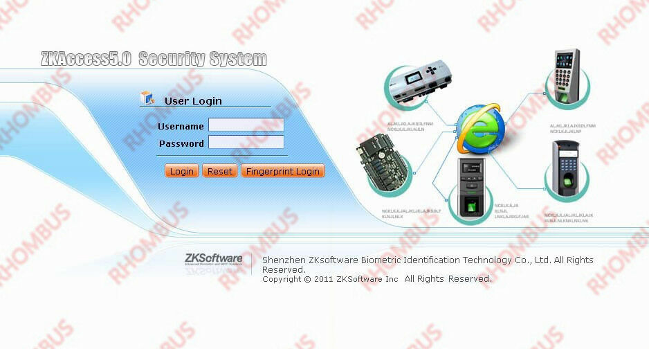Zk Tcp  Ip Rs485 Zksoftware C3 Series Ip W Power
