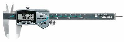 Tesa Brown Sharpe 00599390 6 Ip67 Valueline Absolute Digital Caliper-sq Rod