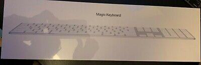 Apple Magic Keyboard with Numeric Keypad - British English - Silver