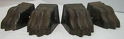 Antique Claw Paw Feet Architectural Accent table desk furniture set of 4