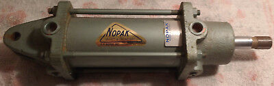 Nopak Hydraulic Cylinder 2.5x4 Clevis Mount 0.75-16 Threaded Rod