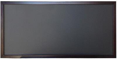 24x48 Wood Frame Black Chalkboard Menu Board Restaurant Cafe Sign on Rummage