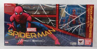 SH Figuarts Spider-man Homecoming with Wall Action Figure Bandai Tamashi Nations