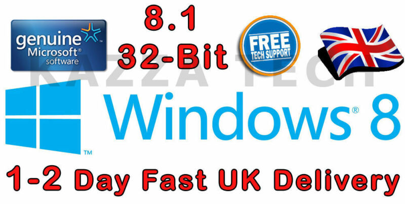 Windows 8.1 32-Bit System Builder (OEM) Windows WN7-00659