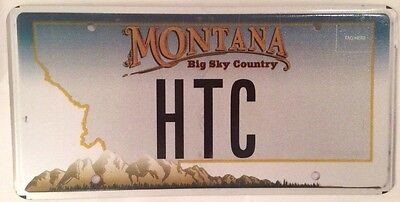 Montana vanity HTC license plate HT HC TC MT Helen Harold Harry Howard Henry Hal