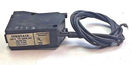 GE TFKSTA12, 120-240 VAC, 50/60 Hz, 125 VDC SHUNT TRIP