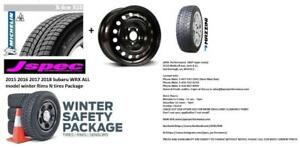 2015 2016 2017 2018 2019 Subaru WRX winter tires n rims package 225/45R17 $650 instsalled