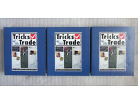 TRICKS of the TRADE DIY colour workcards/sheets - Bound in three folders - Very Good Condition