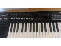 Roland - A-300PRO Midi keyboard controller.
