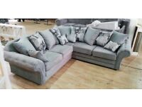 NICOLE CHESTERFIELD CORNER OR 3+2 SEATER SOFA SET AVAILABLE IN STOCK