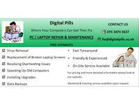 Digital Pills Computer & Laptop repair service