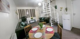 **SHORT TERM STAY Fully Furnished 1 Bed Apartment near Heathrow. Perfect Heathrow Stop Over