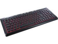 labtec illuminated keyboard New £10