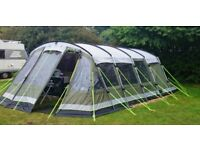 Outwell Vermont XLP tent + large side awning + footprint + carpet