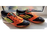 Adidas F50 TRX Indoor/Futsal Football Trainers Mens [UK 12/ US13/ EU47] {RARE} Immaculate Condition