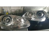 Mk5 golf Projector headlights with 6000k HIDs