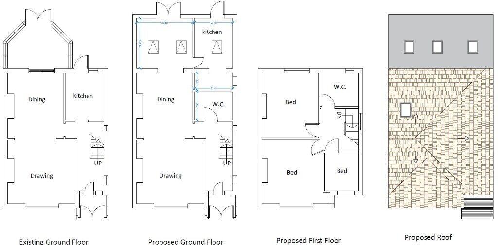 Rear Extension Loft Conversion Floor