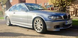 BMW 330CI SPORT COUPE (2004 FACELIFT) Manual Six speed in Metallic Grey