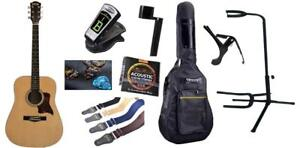 Exquisite Acoustic Guitar for beginners with 8 items Package