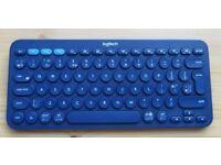 Logitech Multi-Device Bluetooth Keyboard K380 Blue