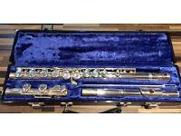 Gemeimhardt 2 SP flute with original hard case