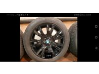 Bmw X5 winter wheels and tyres e70 model