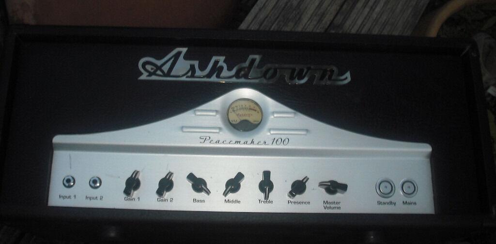 Ashdown Peacemaker Custom 100 Matamp built hand wired valve ...