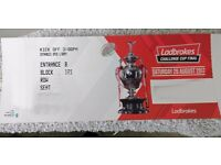 Challenge Cup final 2017 Two tickets for sale in Block 121