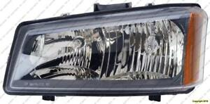 Head Lamp Driver Side High Quality Chevrolet Silverado 2003-2004