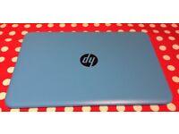 HP Stream 14 Inch Intel Celeron 4GB 32GB Laptop - Blue V-Good Condition