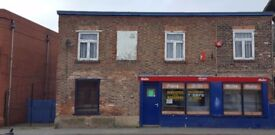 SHOP/ Detached, spacious, commericial propoerty to let in , DONCASTER DN8 5BA.