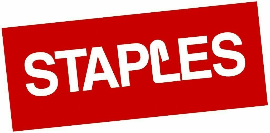 Staples 20 Off Your Online Order Of 100 Or More - Exp 10/15/2021 Limit 1 - $3.99
